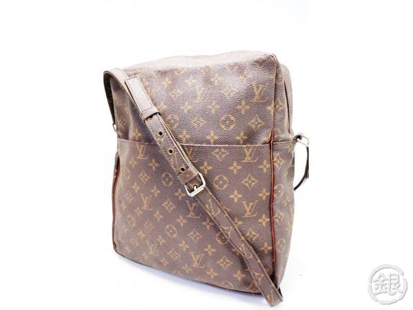 AUTHENTIC PRE-OWNED LOUIS VUITTON VINTAGE MONOGRAM MARCEAU GM SHOULDER BAG M40264 No.70 200124