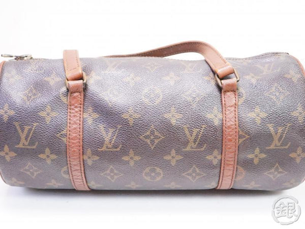 AUTHENTIC PRE-OWNED LOUIS VUITTON VINTAGE MONOGRAM PAPILLON 30 HAND BARREL BAG PURSE M51385 200154