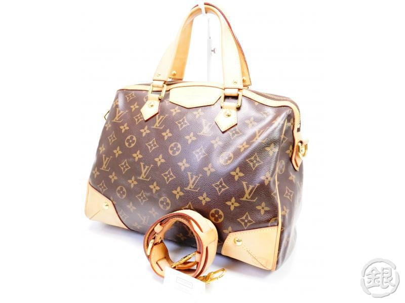 AUTHENTIC PRE-OWNED LOUIS VUITTON LV MONOGRAM RETIRO PM 2-WAY HAND DUFFLE BAG w/ Strap M40325 200151
