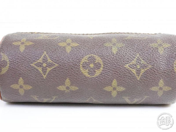 AUTHENTIC PRE-OWNED LOUIS VUITTON VINTAGE MONOGRAM TROUSSE RONDE 16 PEN CASE POUCH BAG M47626 191765