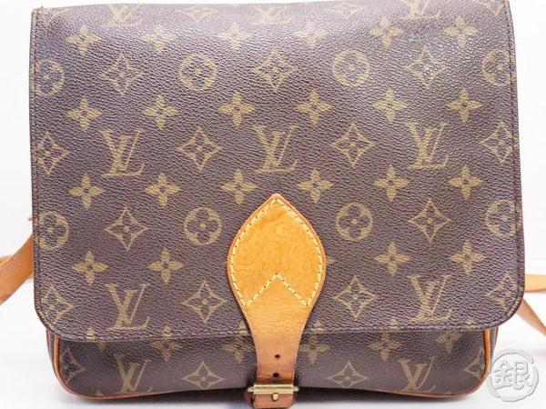 AUTHENTIC PRE-OWNED LOUIS VUITTON MONOGRAM CARTOUCHIERE GM CROSSBODY MESSENGER BAG M51252 200160