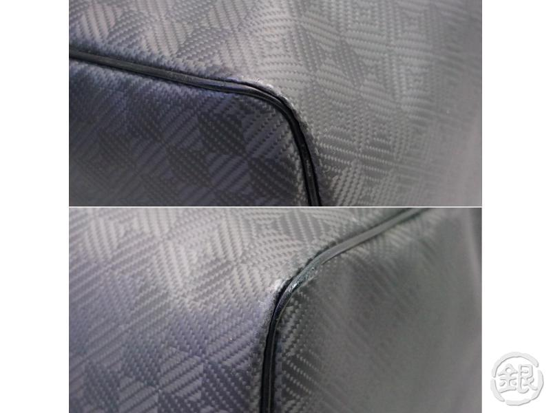 AUTHENTIC PRE-OWNED LOUIS VUITTON LV DAMIER CARBONE KEEPALL 45 TRAVELING DUFFLE BAG N41415 200152