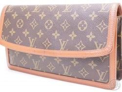 authentic pre-owned louis vuitton vintage monogram pochette dame gm clutch bag purse m51810 200164