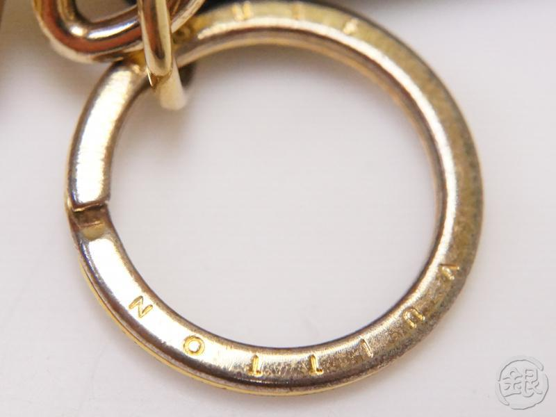authentic pre-owned louis vuitton monogram bag charm petite malle trunk bag key ring m78618 200193