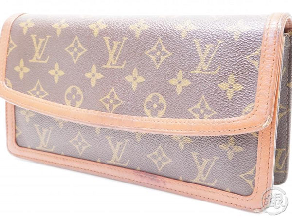 authentic pre-owned louis vuitton lv monogram vintage pochette dame clutch bag purse m51812 200190