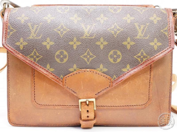 authentic pre-owned louis vuitton vintage monogram sac biface clutch shoulder bag strap no.79 200197