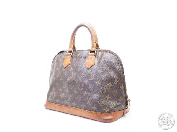 authentic pre-owned louis vuitton lv monogram alma pm hand tote bag m51130 m53151 200185