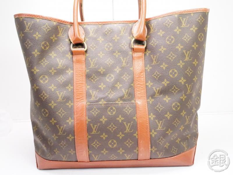 authentic pre-owned louis vuitton vintage monogram sac weekend gm tote bag m42420 no.184 200184
