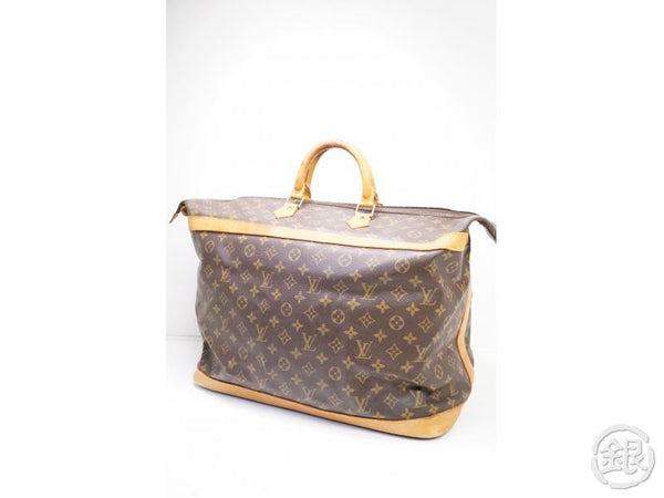 authentic pre-owned louis vuitton monogram cruiser bag 45 traveling duffle bag m41138 200225