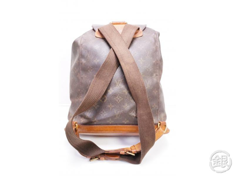 authentic pre-owned louis vuitton monogram montsouris gm backpack bag m51135 200223