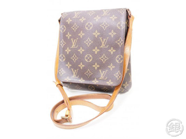 authentic pre-owned louis vuitton lv monogram musette salsa long strap crossbody bag m51387 200220