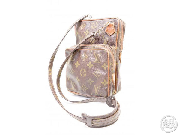 authentic pre-owned louis vuitton monogram vintage mini amazone crossbody bag no.169 m45238 200207