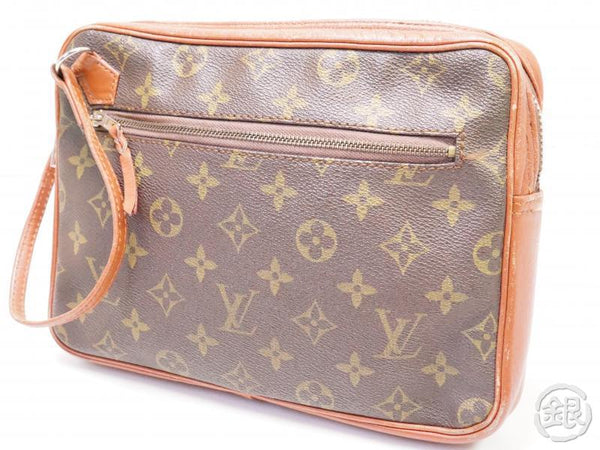 authentic pre-owned louis vuitton vintage monogram pochette sport clutch bag no.183 200205
