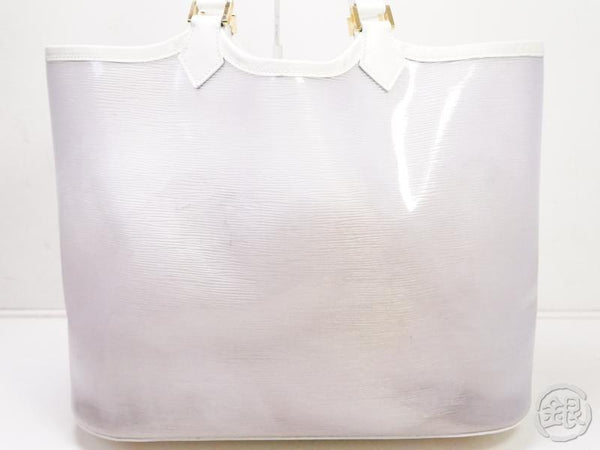 authentic pre-owned louis vuitton epi plage coconut white lagoon bay gm large tote bag m92151 200206