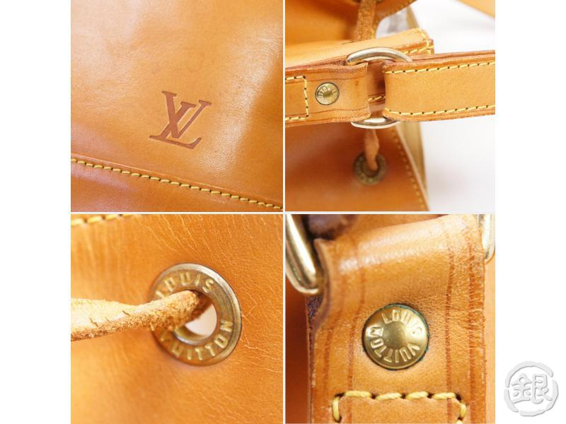 authentic pre-owned louis vuitton special ordered nomade vachetta leather noe shoulder bag 200209