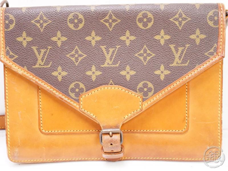authentic pre-owned louis vuitton vintage monogram sac biface 3way crossbody bag no.79 m51310 200073