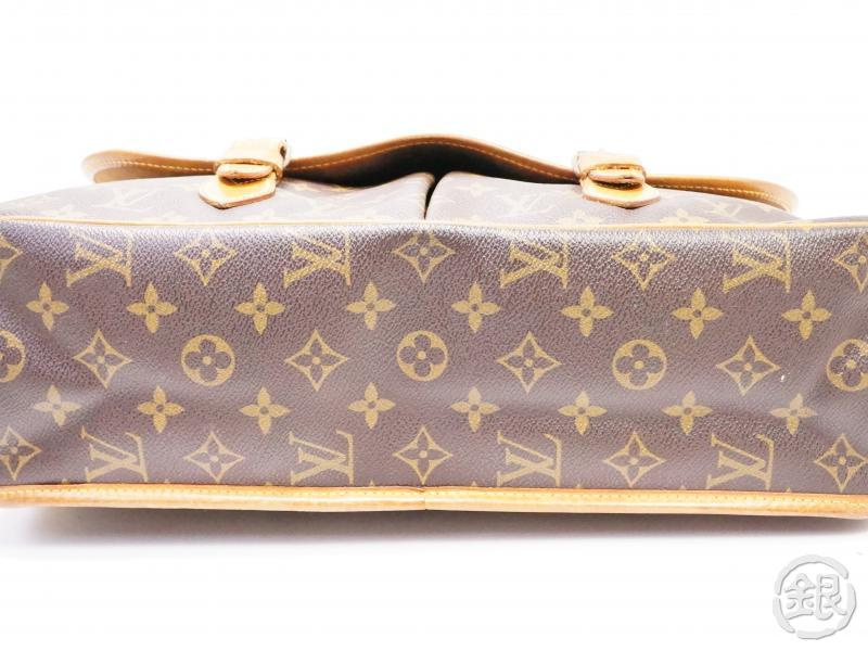 authentic pre-owned louis vuitton lv monogram sac gibeciere gm messenger bag m42249 200200