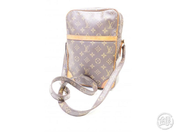 authentic pre-owned louis vuitton vintage monogram danube 20 crossbody messenger bag m45264 200242