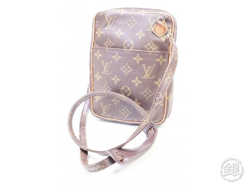 authentic pre-owned louis vuitton vintage monogram vide-poche danube crossbody m45266 no.75 200254