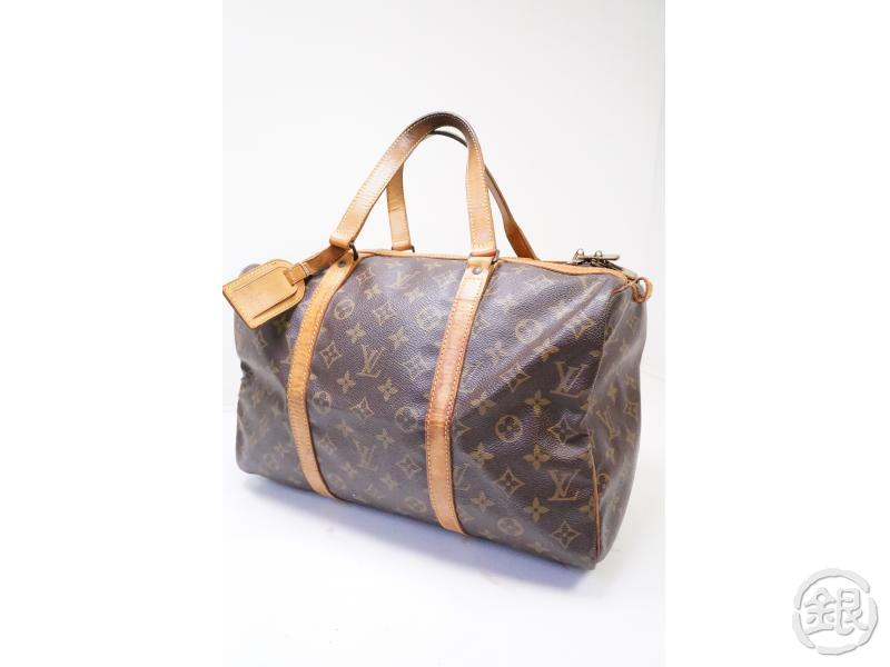 authentic pre-owned louis vuitton vintage monogram sac souple 35 traveling duffle bag m41626 200252