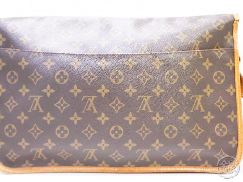 authentic pre-owned louis vuitton lv monogram sac gibeciere gm messenger bag m42249 200257