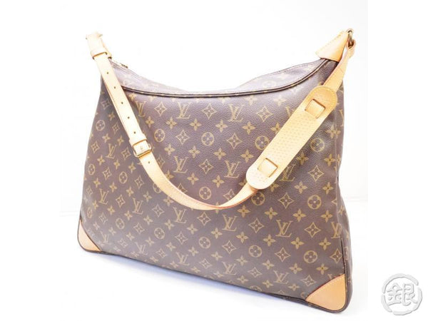 authentic pre-owned louis vuitton monogram sac promenade jumbo shoulder tote bag m51114 200256