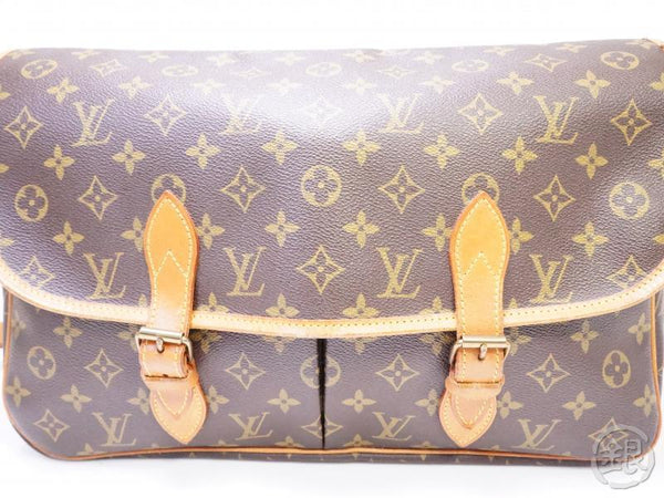 authentic pre-owned louis vuitton lv monogram sac gibeciere gm messenger bag m42249 200235