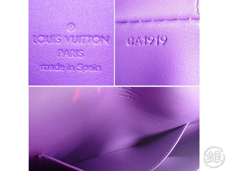 AUTHENTIC PRE-OWNED LOUIS VUITTON VERNIS VIOLET THOMPSON STREET SHOULDER BAG M91095 200264