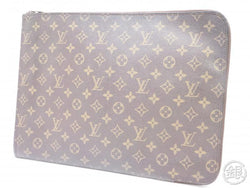 authentic pre-owned louis vuitton monogram poche documents portfolio gm case bag m53456 191868