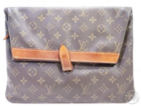 authentic pre-owned louis vuitton vintage monogram pochette pliante clutch bag m51805 no.234 191896