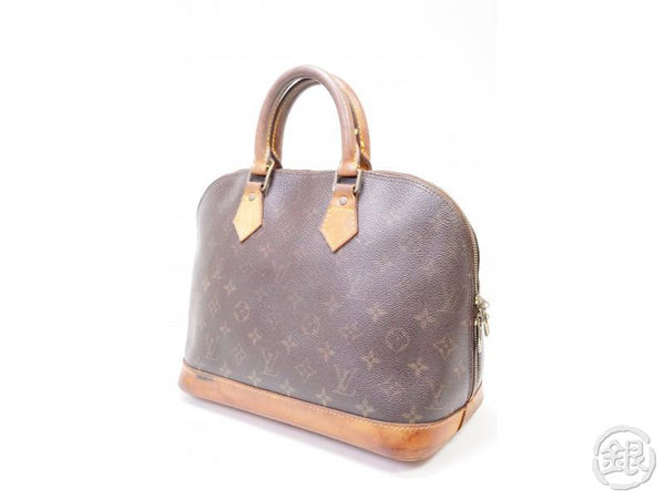authentic pre-owned louis vuitton lv monogram alma pm hand tote bag m51130 m53151 200268
