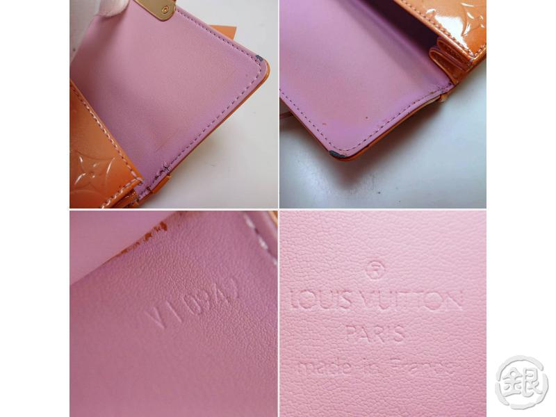 AUTHENTIC PRE-OWNED LOUIS VUITTON LV VERNIS MARSHMALLOW PINK SPRING STREET HANDBAG M91033 200279