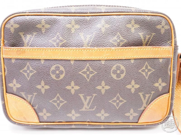 authentic pre-owned louis vuitton vintage monogram trocadero pm crossbody bag m51276 200281