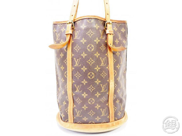authentic pre-owned louis vuitton lv monogram large bucket gm shoulder tote bag m42236 200262