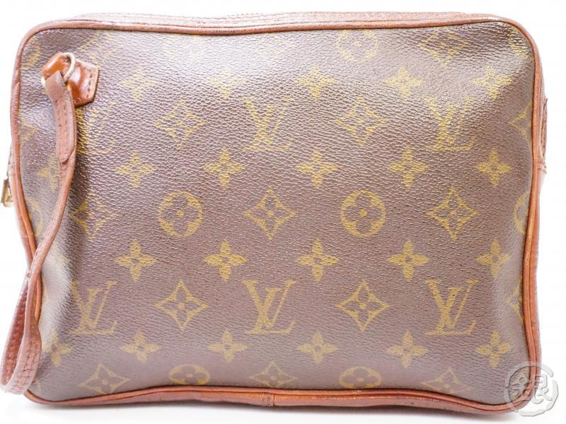 authentic pre-owned louis vuitton vintage monogram pochette sport clutch bag no.183 200261