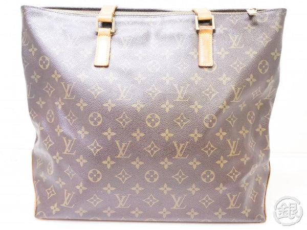 authentic pre-owned louis vuitton monogram cabas mezzo large shoulder tote bag m51151 200327