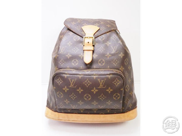authentic pre-owned louis vuitton monogram montsouris gm backpack bag m51135 200321