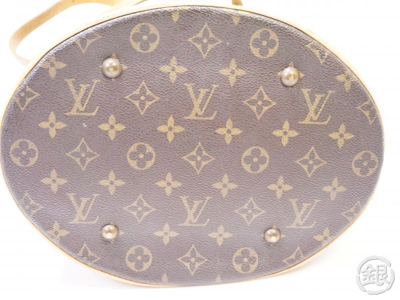 authentic pre-owned louis vuitton lv monogram large bucket gm shoulder tote bag m42236 200323