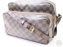 authentic pre-owned louis vuitton special ordered damier nil crossbody messenger bag n48062 200361