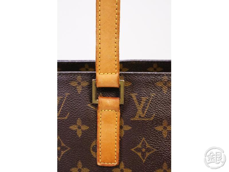 authentic pre-owned louis vuitton lv monogram luco shopping large shoulder tote bag m51155 200353