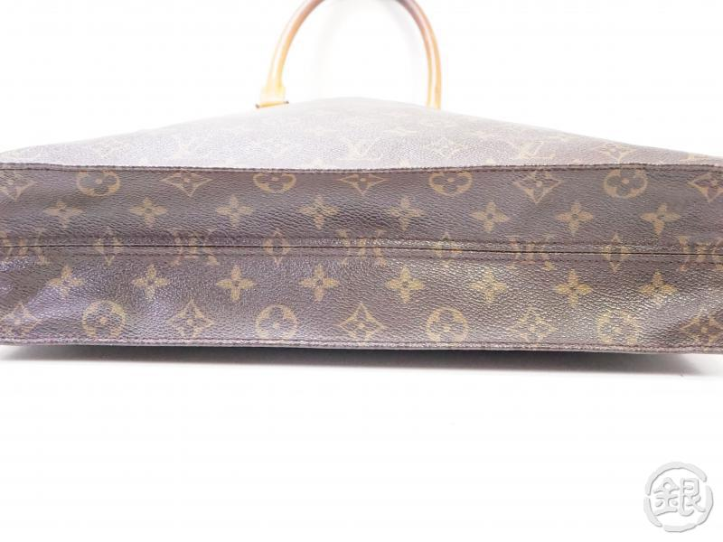 authentic pre-owned louis vuitton monogram sac plat shopping hand tote bag m51140 m40805 200340