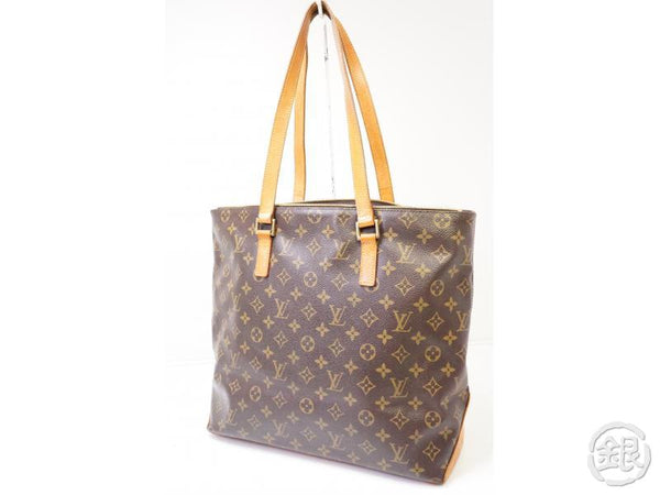 authentic pre-owned louis vuitton monogram cabas mezzo large shoulder tote bag m51151 200333