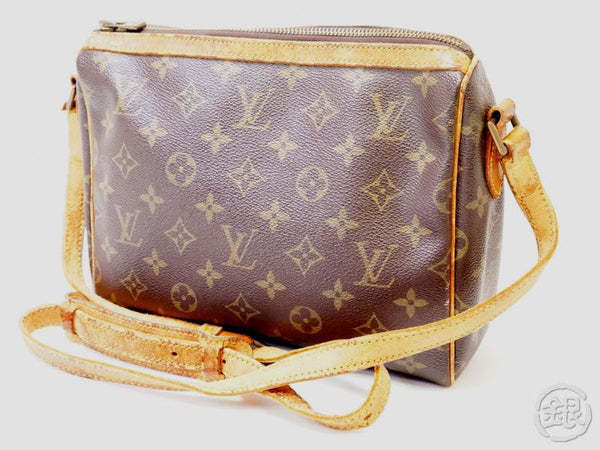 authentic pre-owned louis vuitton vintage monogram tuileries crossbody messenger bag m51350 200334