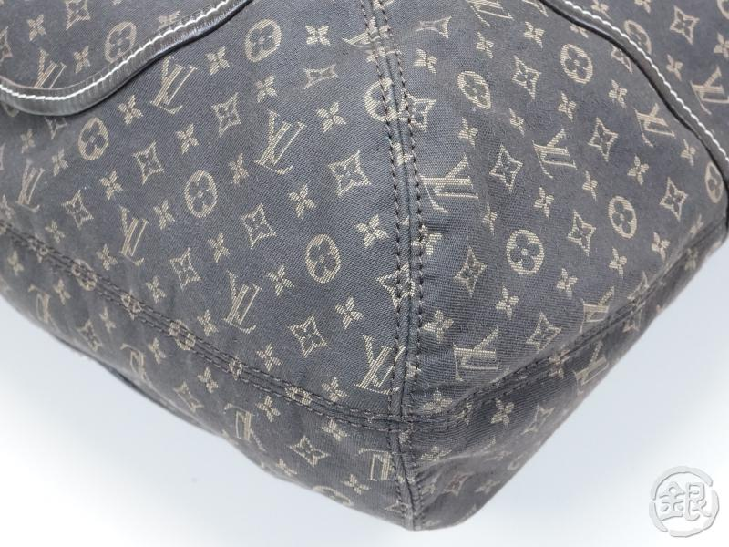 AUTHENTIC PRE-OWNED LOUIS VUITTON MONOGRAM IDYLLE FUSAIN BROWN ELEGIE TOTE BAG Strap M56696 140161