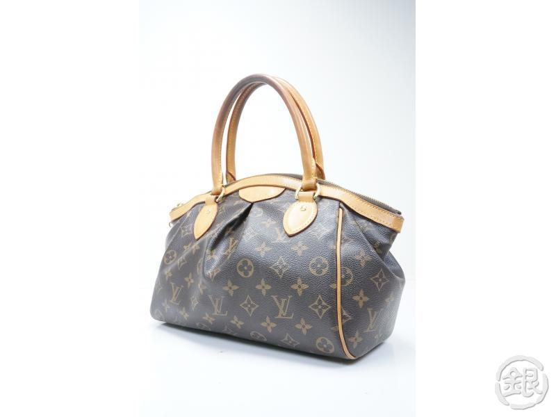 AUTHENTIC PRE-OWNED LOUIS VUITTON MONOGRAM TIVOLI PM HAND TOTE BAG PURSE M40143 140625