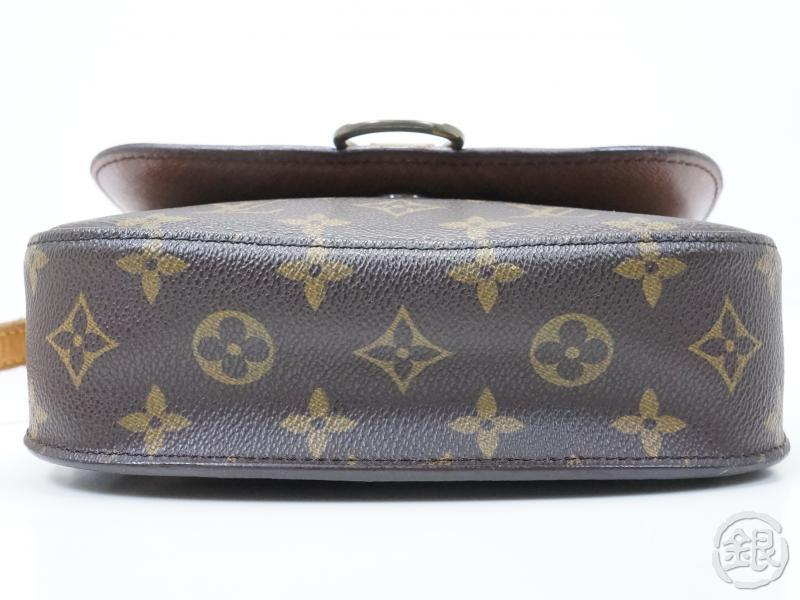 AUTHENTIC PRE-OWNED LOUIS VUITTON LV MONOGRAM SAINT-CLOUD MM CROSSBODY BAG M51243 152329