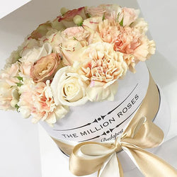 Small - Coffe Mix - White Box - The Million Roses Slovakia