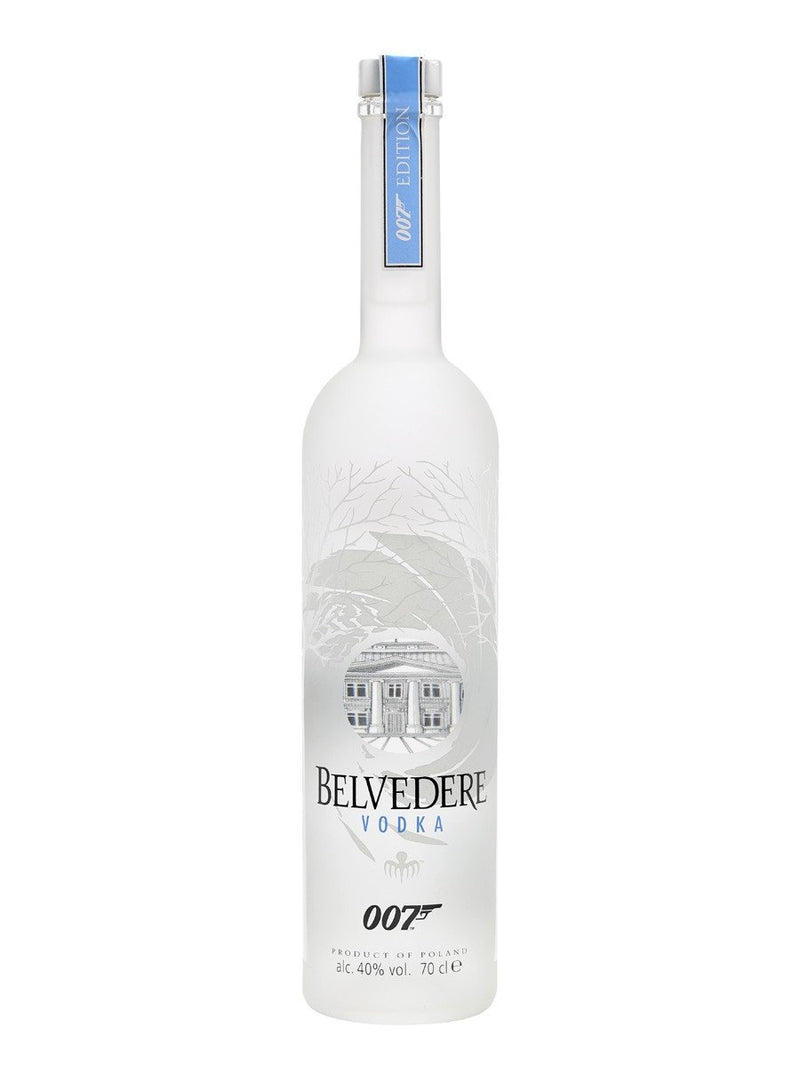 Belvedere Vodka 007 James Bond Spectre Edition - The Million Roses Slovakia