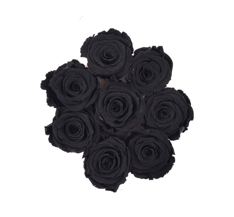 The Million Roses Europe - The Million Basic - Black Eternity Roses Delivered Anywhere in Europe