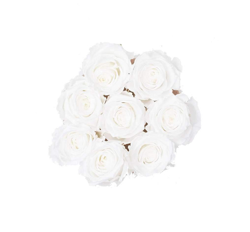 The Million Basic - White Eternity Roses - Vanilla Box - The Million Roses Slovakia